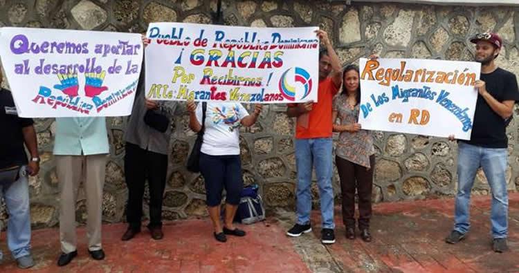 venezolanos en rd