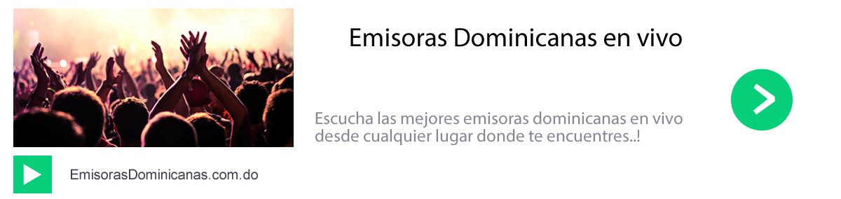 Escuchar Emisoras Dominicans en vivo