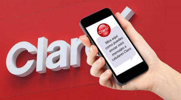 Enviar mini mensajes Claro gratis a celulares