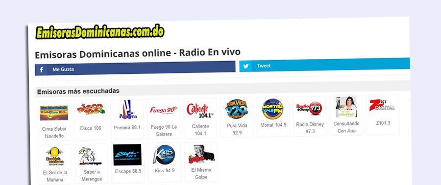 emisoras dominicanas en vivo