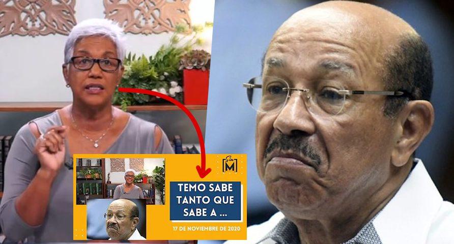Video: Altagracia Salazar arremete contra Temo Montás