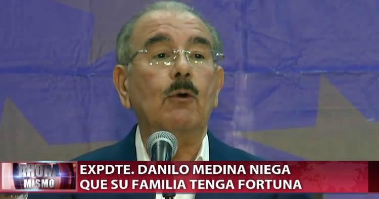 Video: Danilo Medina califica de abusivo y atropellante el apresamiento de exfuncionarios