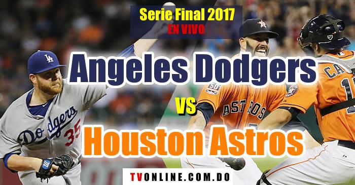 Ver Angeles Dodgers vs Houston Astros en vivo por Digital 15 y ESPN