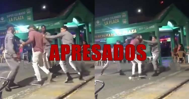 PN dice que ya apresaron los agentes que le entrarón a macanazos a hombre en Baní
