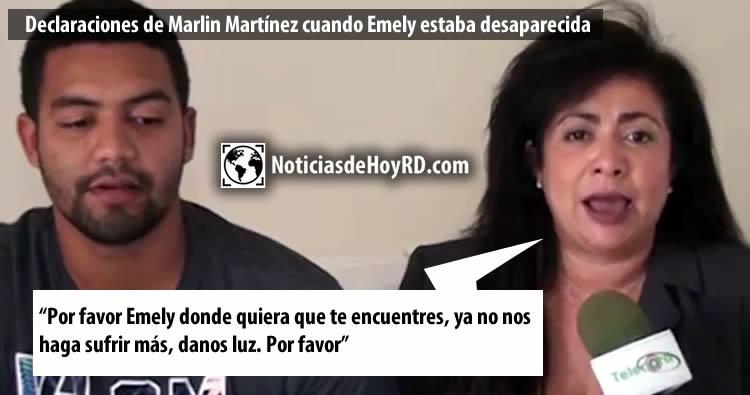 """Marlin Martínez dice que han convertido el caso en un """"espectáculo"""""""