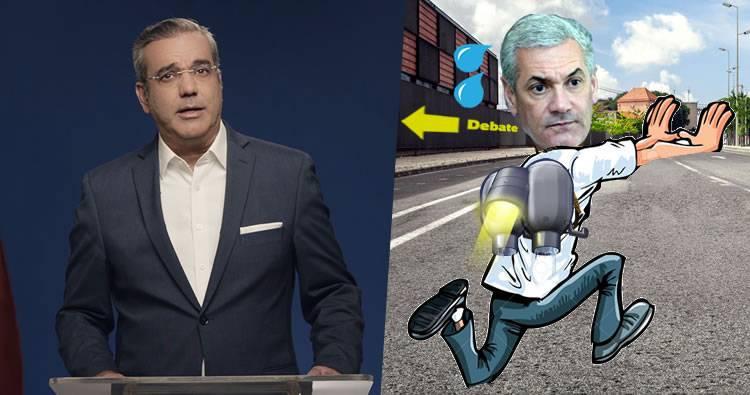 Luis Abinader dice lamenta que suspensión de debate por excusa enviada por Gonzalo
