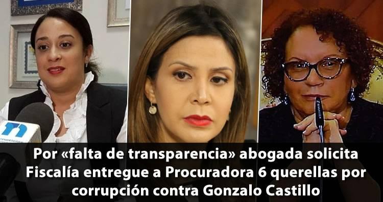 Solicitan a Fiscalía entregar a Procuraduría General 6 querellas por corrupción contra Gonzalo