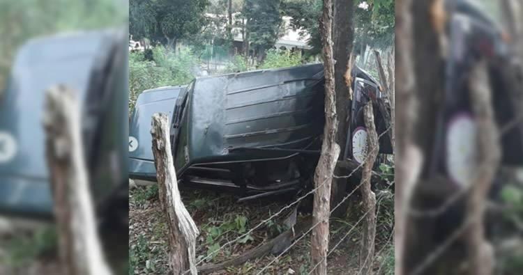 Video: seguidores de Leonel Fernández sufren accidente de tránsito