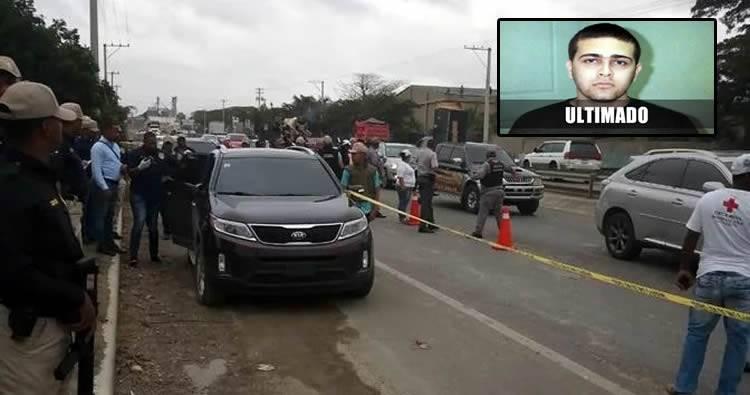 PN somete 3 agentes mataron José Gabriel Báez Abreu