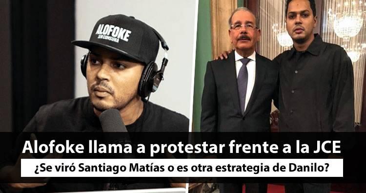 Santiago Matias 'Alofoke' llama a urbanos a protestar este jueves frente a JCE