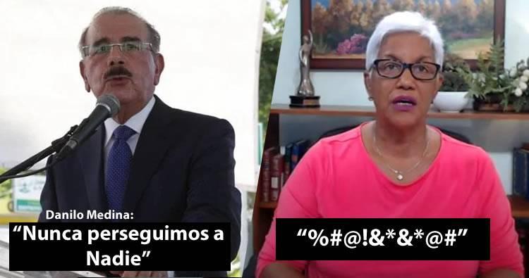 Video: Danilo Medina dijo que nunca persiguió a nadie, Altagracia Salazar le responde