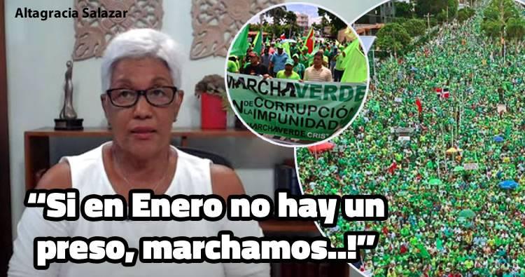 Video: Altagracia Salazar: «Si en Enero no hay un preso, marchamos..!»