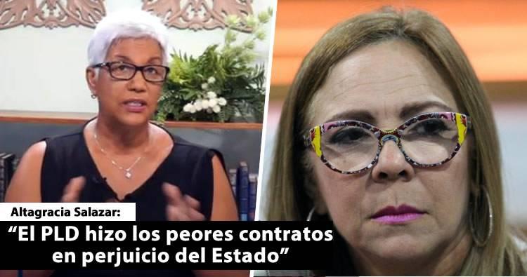 Video: Altagracia Salazar revela otra comprita de Iris Guaba del Plan Social de la Presidencia