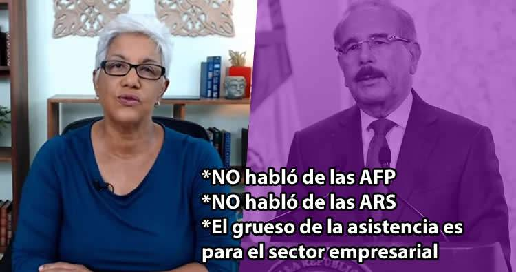 Altagracia Salazar analiza las medidas del Gobierno ante el Coronavirus