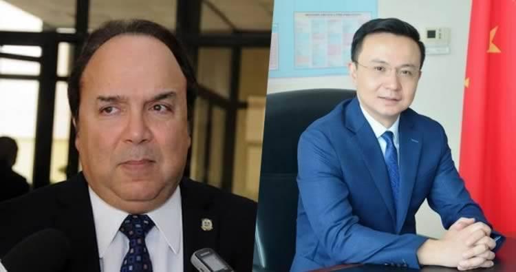 Vinicio Castillo acusó a China de retrasar sus ayudas a RD para beneficiar a Gonzalo Castillo