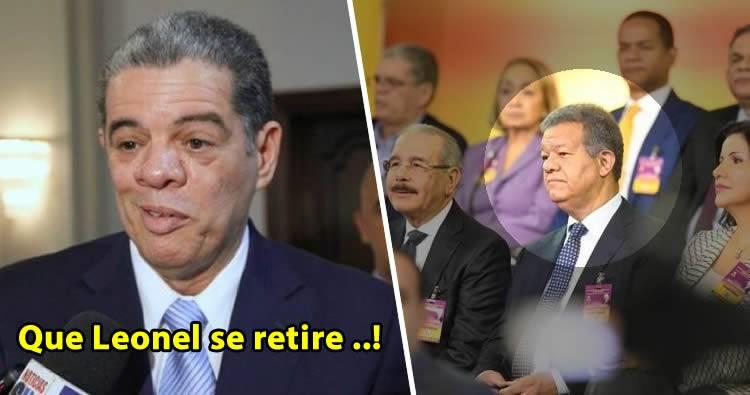 Amarante Baret propone que Leonel Fernández se retire para unificar al PLD