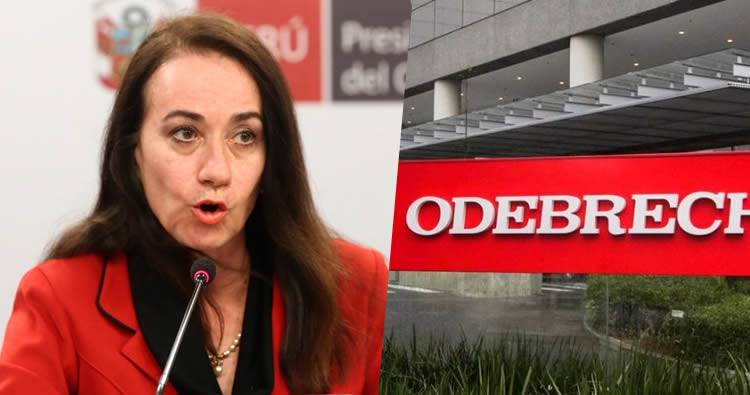 Renuncia la ministra de Justicia de Perú por caso Odebrecht