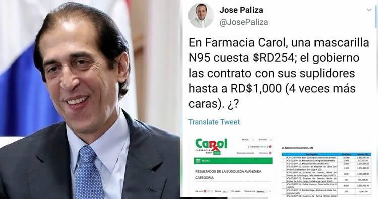 Anulan compras «sobrevaluadas» de emergencia por RD$2,725 MM