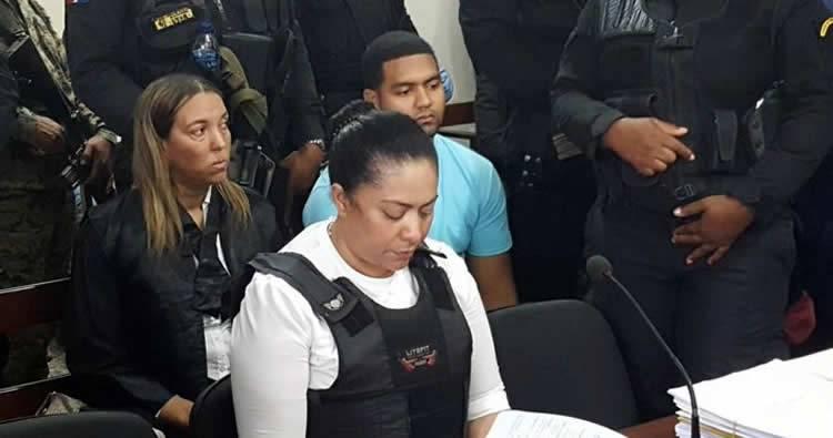 Aplazan juicio contra Marlin Martínez y su hijo Marlon para el 14 de septiembre