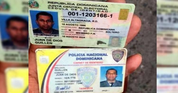 Identifican teniente ultimado esta tarde en Manoguayabo
