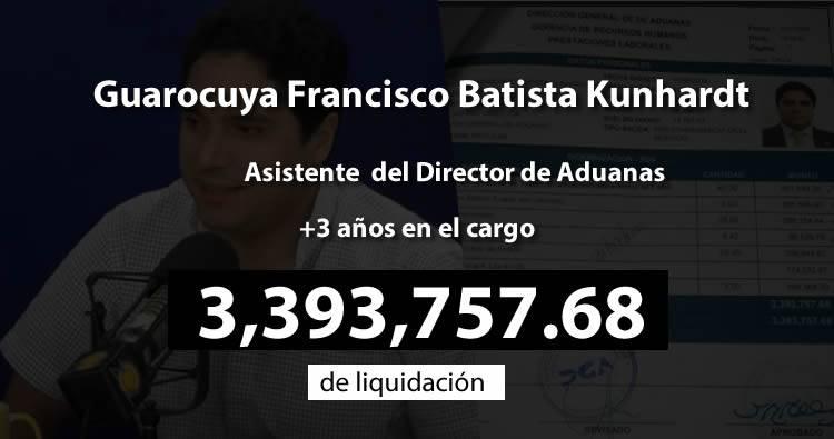 Director Aduanas habría liquidado asistente con más de RD$3 millones en violación a Ley de Función Pública