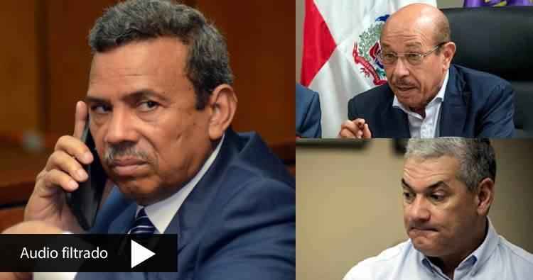 Supuesto audio de Radhames Segura: 'Temo debe renunciar, Gonzalo Castillo debe ser sustituido