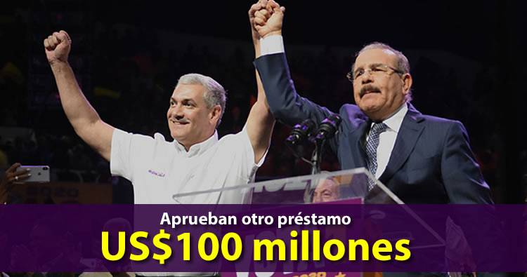 Banco Mundial aprueba préstamo de US$100 millones para que Danilo Medina luche contra COVID-19