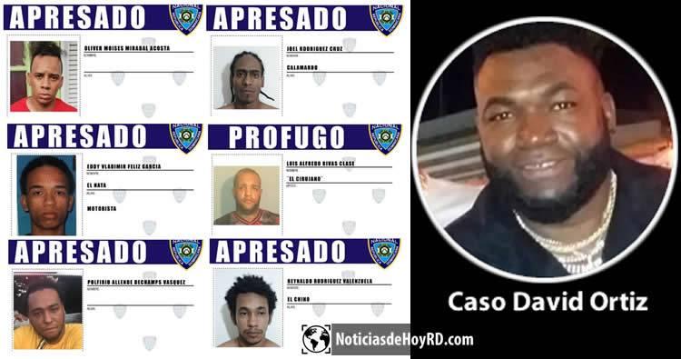 Fotos: Los implicados en el intento de muerte de David Ortiz