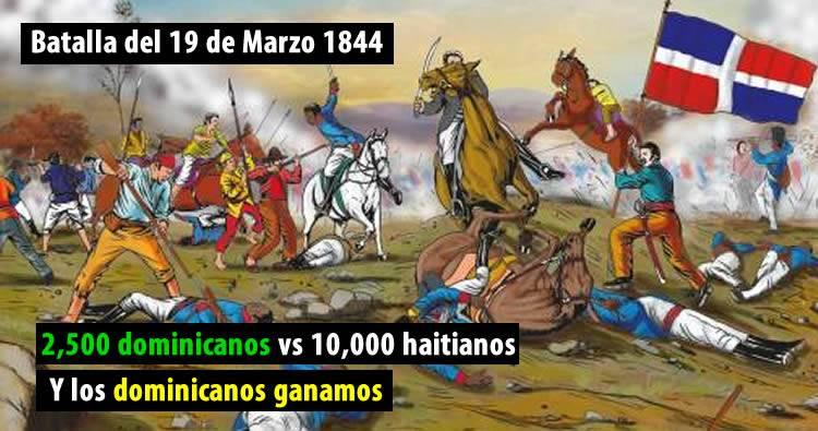 Batalla del 19 de Marzo 1844; el primer enfrentamiento por la soberanía dominicana