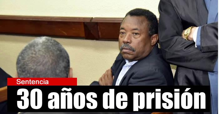 Suprema Corte le  confirma 30 años de prisión a Blas Peralta por asesinar a Febrillet