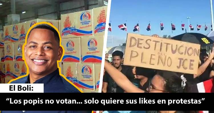 Bolivar Valera 'El Boli' protege sus intereses y ataca a quienes protestan contra el sabotaje a las elecciones