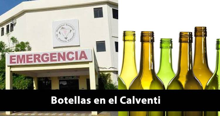 'Botellas' tienen en déficit al hospital Vinicio Calventi