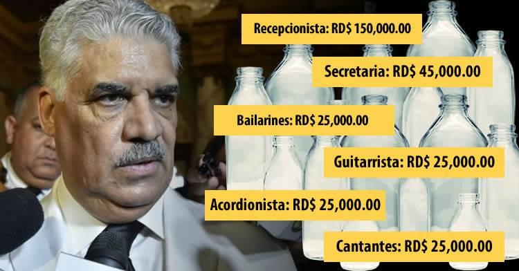 """Cancillería paga más de RD$130 millones en """"botellas"""" del PRD y del PLD según periódico Acento"""