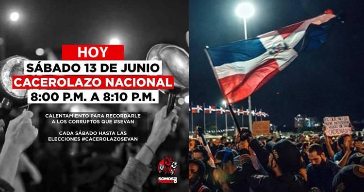"Convocan a  ""cacerolazo nacional"" para este sábado 13 de Junio 2020"