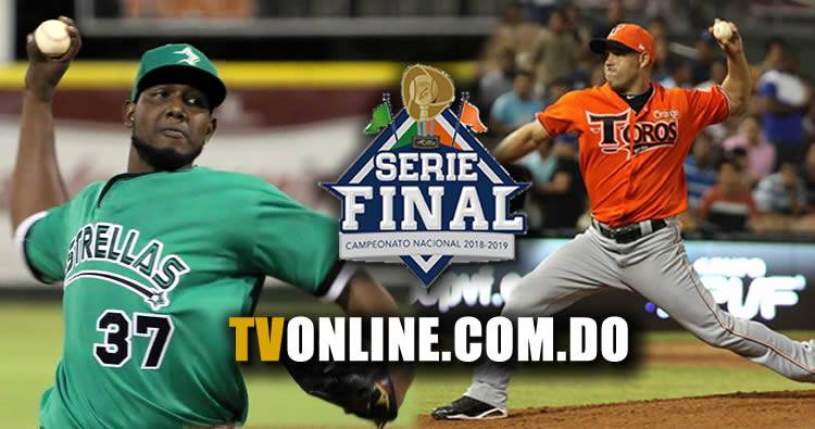 Calendario Serie Final Toros vs Estrellas (2019)