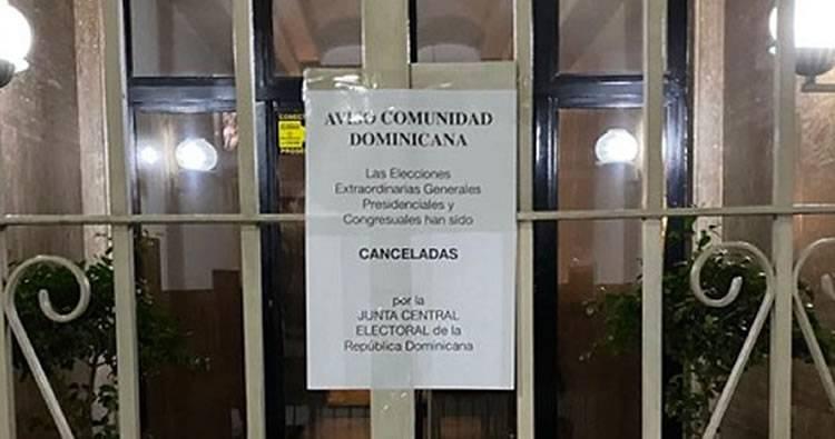 Dominicanos en Argentina denuncian cancelación de elecciones
