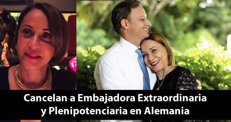 Luis Abinader cancela a la madre de Jean Alain Rodríguez; era embajadora extraordinaria en Alemania