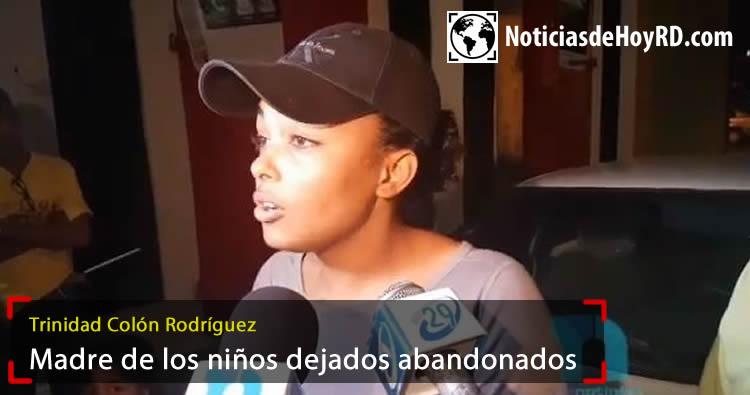 Video: Madre de menores dejados abandonados dice que ellos fueron raptados por desconocidos