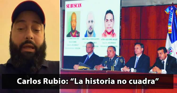 Video: Carlos Rubio dice que 'La Historia no cuadra'