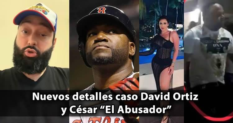"""Carlos Rubio da nuevos detalles sobre el caso David Ortiz  y César """"El Abusador"""""""