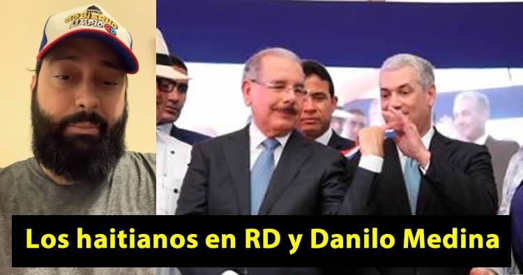 Video: Carlos Rubio habla de los haitianos en RD y Danilo Medina