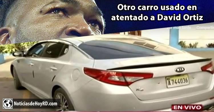 Video: Kia K5, Otro carro usado en atentado a David Ortiz