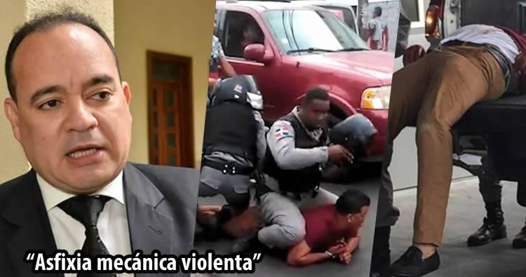 Colegio de Abogados dice autopsia revela jurista apresado por policías murió por asfixia violenta