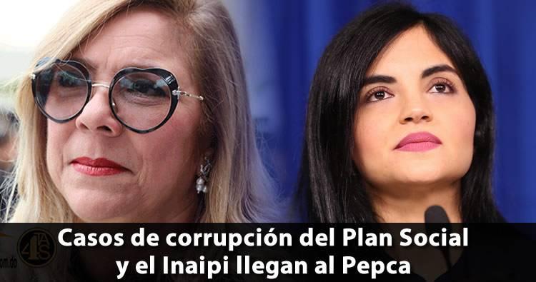 Casos de corrupción del Plan Social y el Inaipi llegan al Pepca