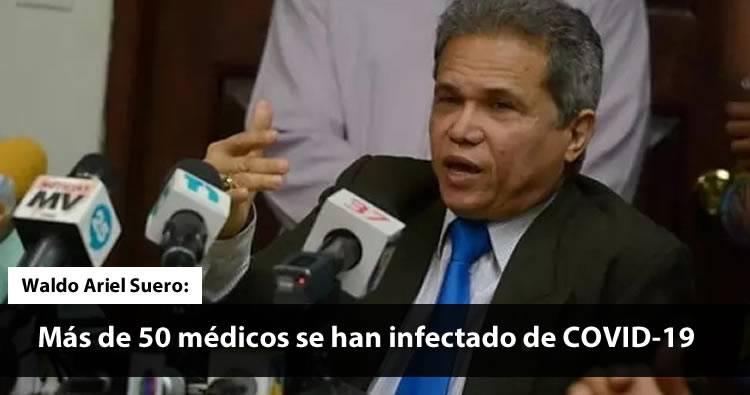 CDM: «Más de 50 médicos se han infectado de COVID-19»   Video