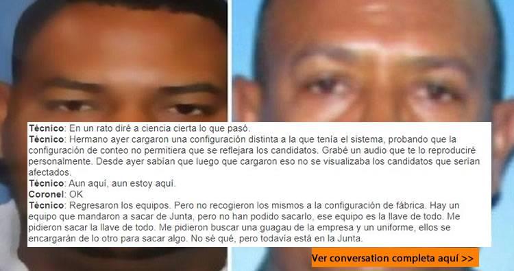 Conversación de seguridad de Abinader y técnico de Claro revela trataban de impedir fraude