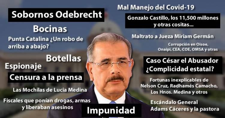 ¿Cómo saldrá Danilo Medina del poder?