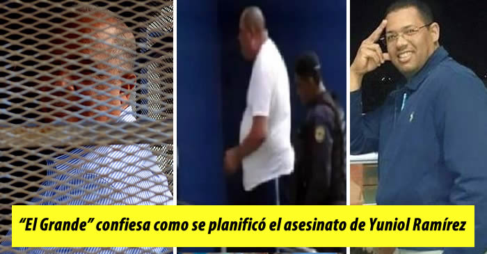 """Mercado Blanco """"El Grande"""" confiesa todo sobre el asesinato de Yuniol Ramírez"""
