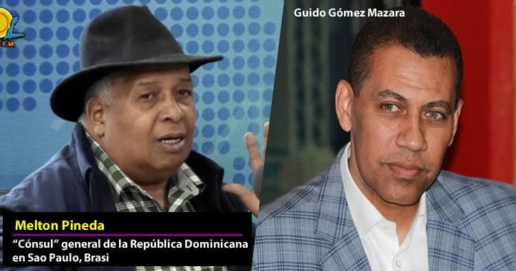 Cónsul Melton Pineda admite divulgó mentiras sobre Luis Abinader, Guido Góméz y el PRM
