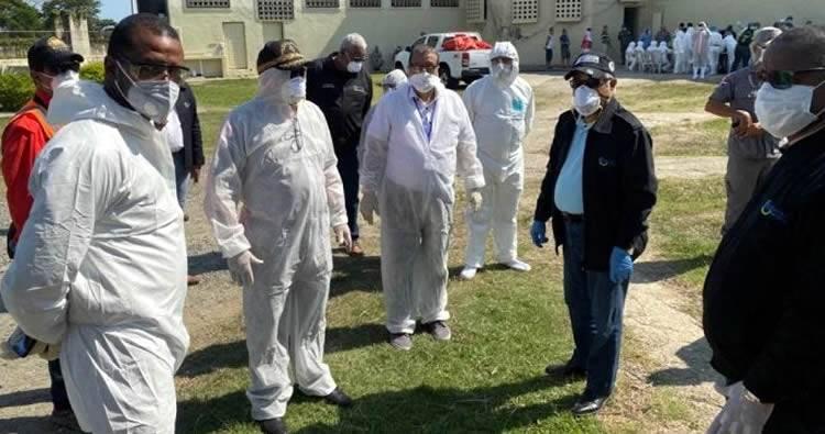 Procuraduría admite hay Covid-19 en cárcel La Victoria